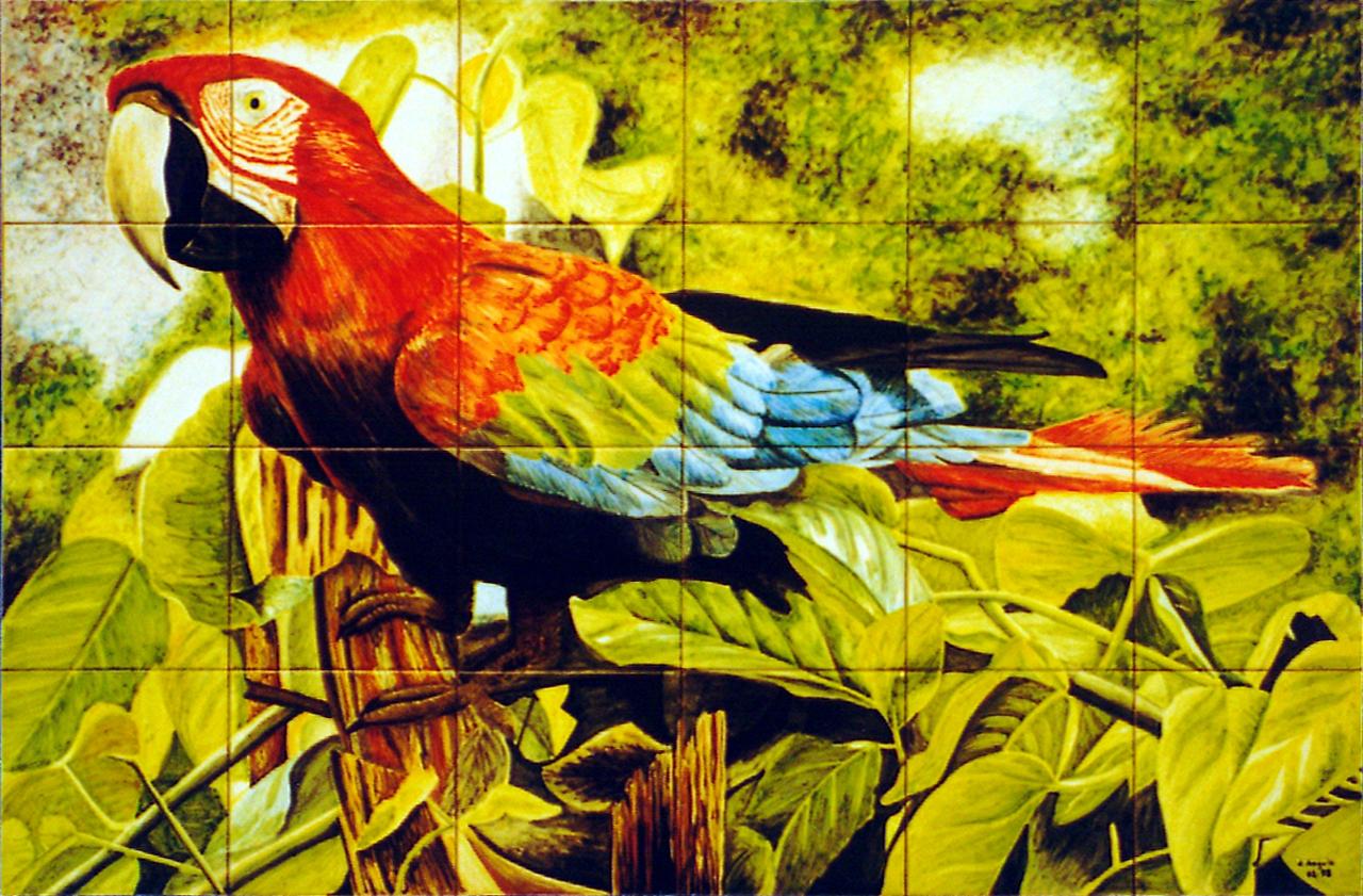 Azulejos pintados a mano y murales decorativos pared - Murales de pared pintados a mano ...