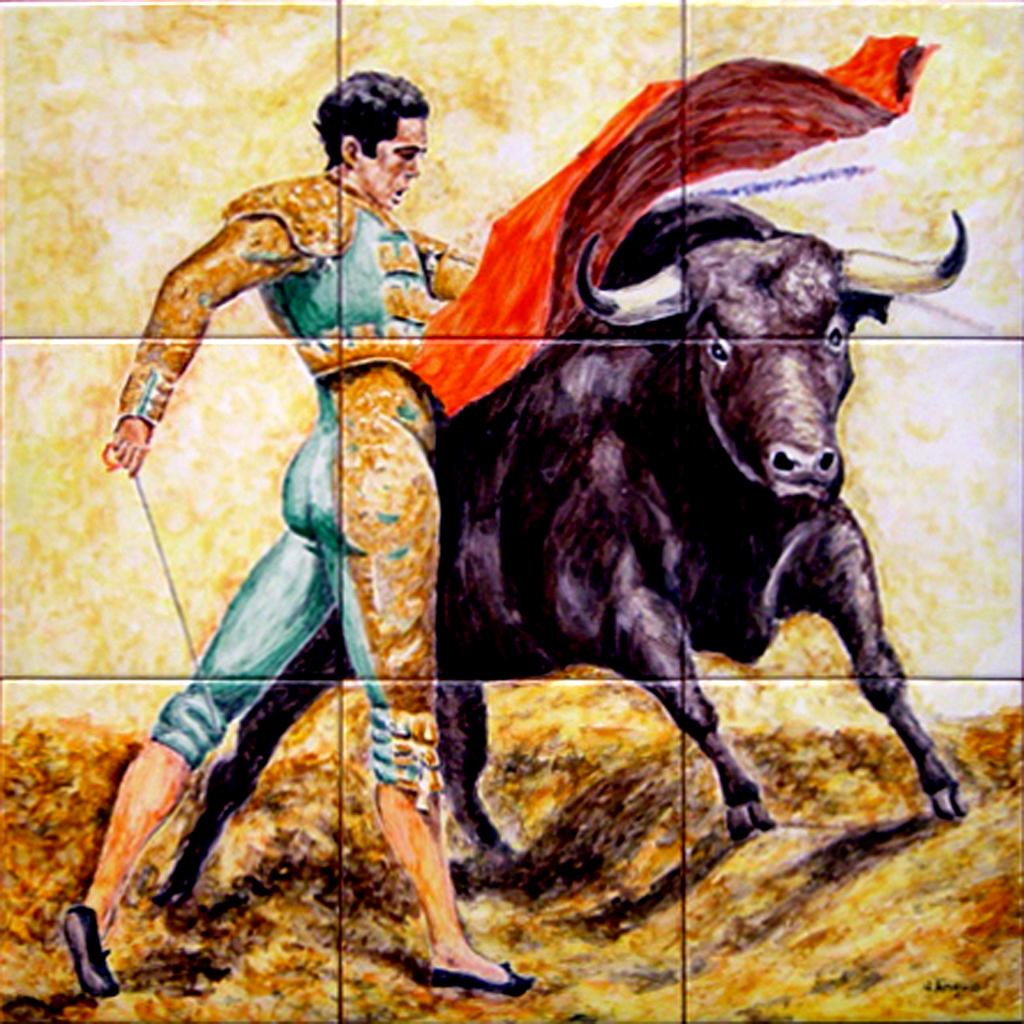 Bullfighter for Murales decorativos